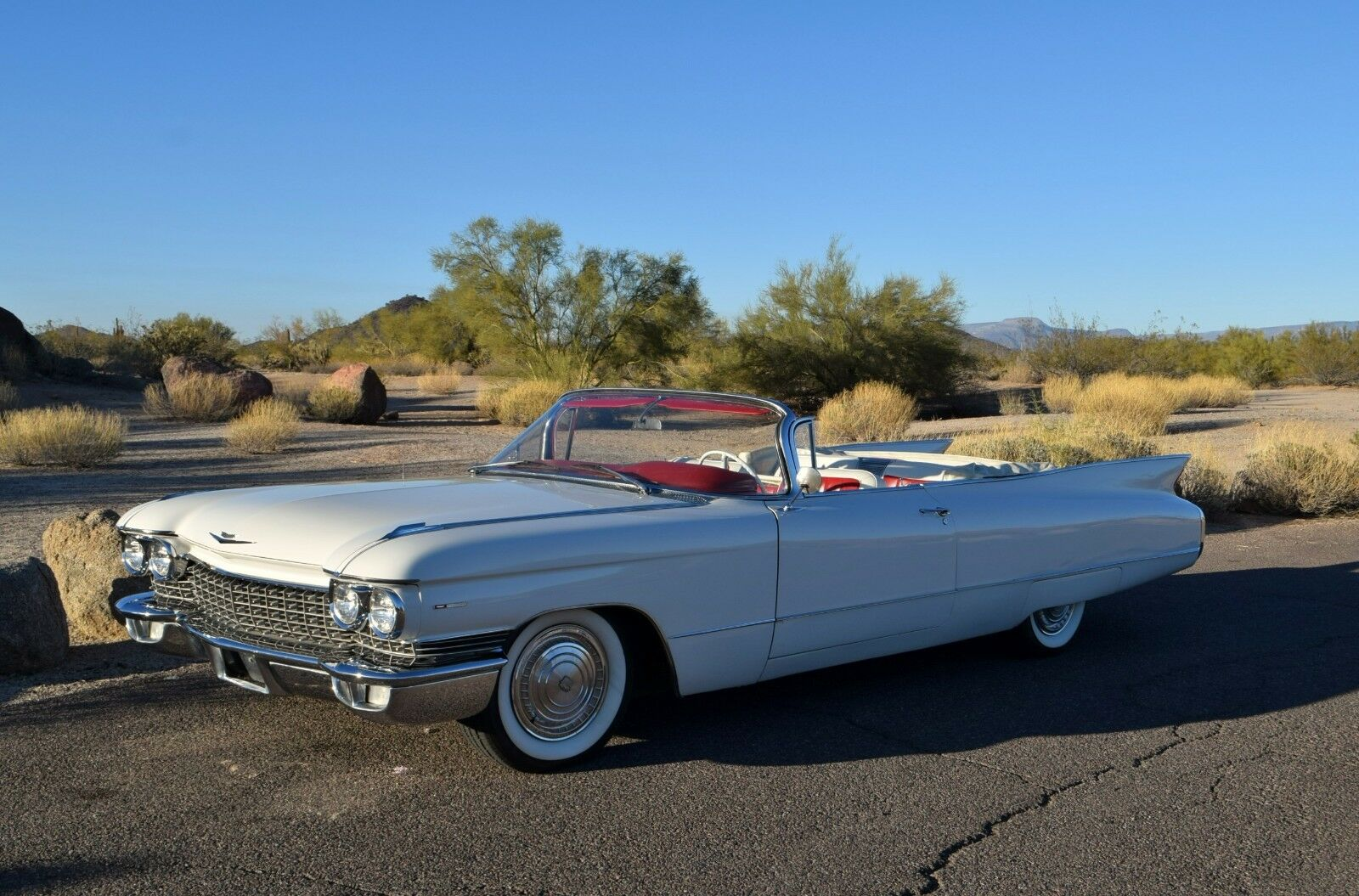 1960 Cadillac Deville Series 62 Convertible 1960 Cadillac Series 62 Convertible - Fresh Paint, Interior, & Top - NICE Driver