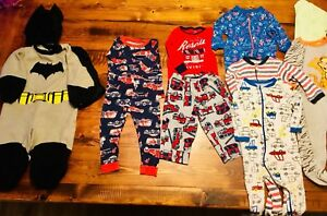 Lot of 32 Items For Baby Boy 12-18 months + Batman costume