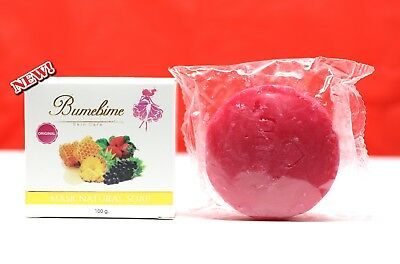 1x Bumebime soap Skin Body whitening can be very fast double white+++Thai new