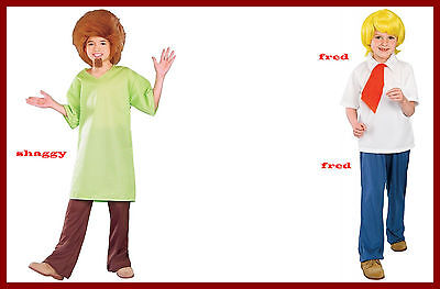 Scooby Doo Shaggy or Fred  Costume Child Large NEW OFFICIAL LICENSE PRODUCT #124](Fred Costume Scooby Doo)