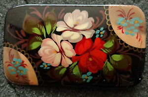 Russian-WOOD-HAND-PAINTED-FLOWERS-PIN-21