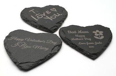iefer Herz Untersetzer Valentinstag Muttertag Geschenk (Personalisierte Mutter Tag Geschenke)