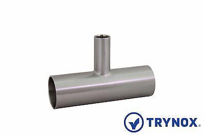 Biopharm Sanitary Stainless Steel 316l 2 X 1 Bpe Reducer Tee Trynox
