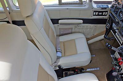 Piper Aztec, Apache complete custom leather interior