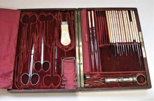 Surgery Eye Or Opthalmological Set By Charrière, With Provenance Circa 1840