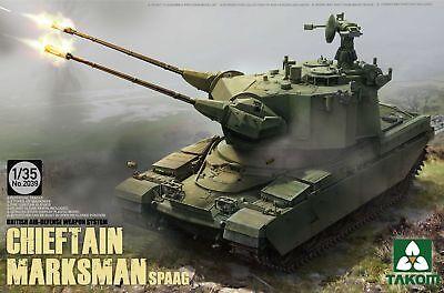 Takom TAK2039 1:3 5 British Air-Defense Weapon System Chieft Chieftain