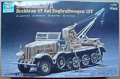 TRUMPETER® 07251 WWII German FAMO Sd.Kfz.9/1 Drehkran 6t in 1:72