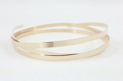 14K Yellow Gold Filled Strip Bezel Wire, 14/20, Plain, Dead Soft, 26 28 30 Gauge