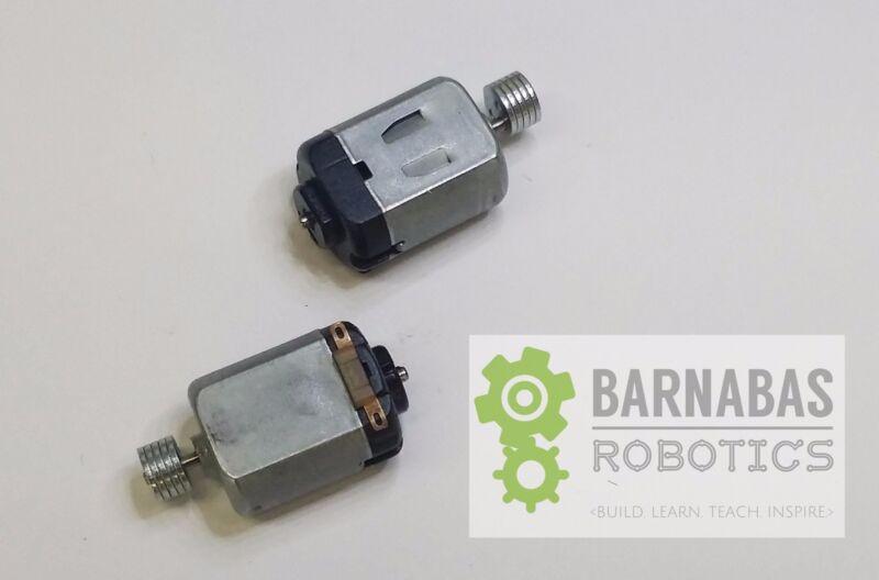2 x DC 1.5-3V Electric Mini Vibrating Vibration 130 Size Motor 12800RPM ArtBot