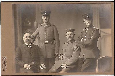 CAB photo Soldaten - Kiel 1910er