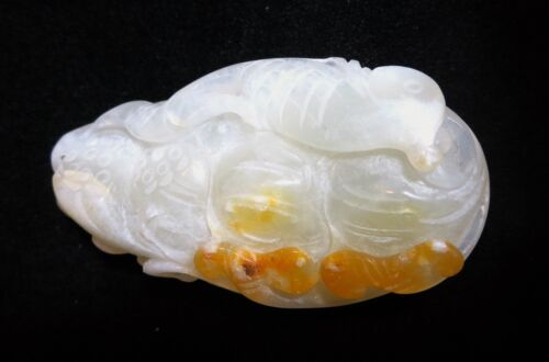 AGATE Pendant White Chinese