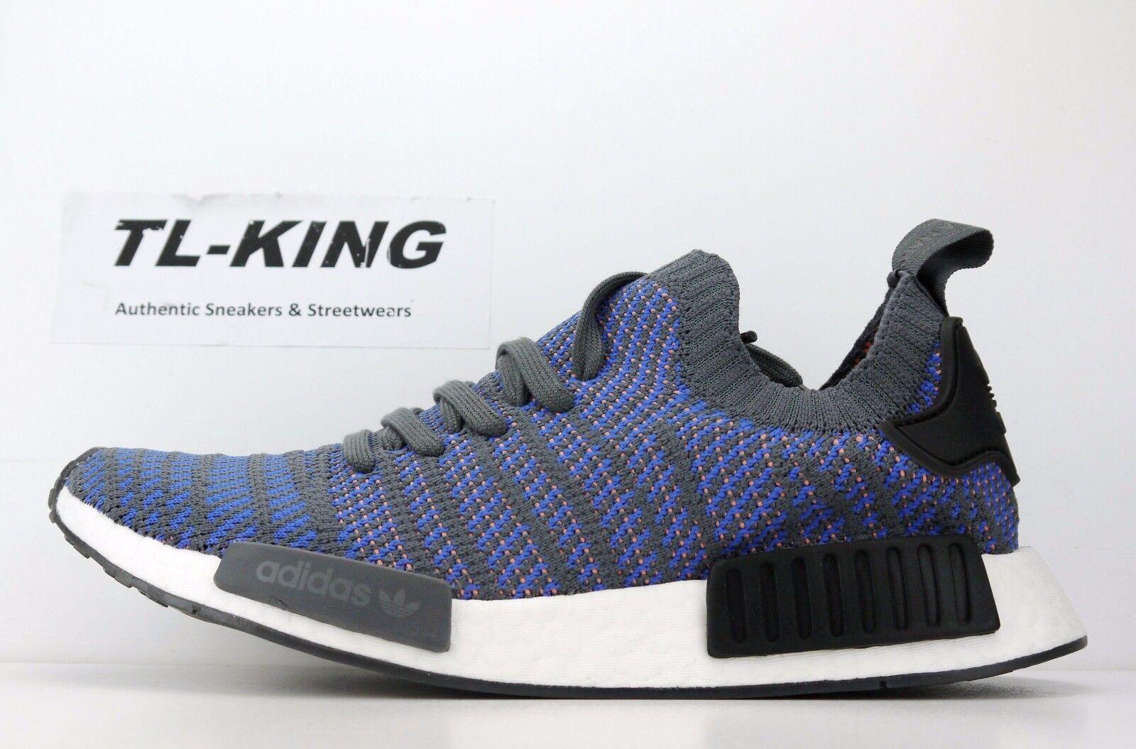 1f6579df365 Adidas Originals NMD R1 Stlt PK Boost Hi-Res Blue Black Coral CQ2388  170 FN