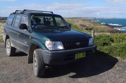 Toyota LandCruiser Prado & camping gear-long rego- REDUCED PRICE! Revesby Bankstown Area Preview