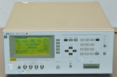 Hp Agilent 4285a 75khz - 30mhz Precision Lcr Meter