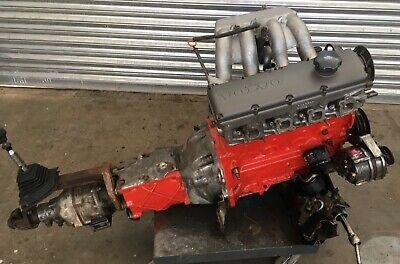 Volvo 240 GLT Redblock Complete Low Mileage B23 Engine and gearbox Rare