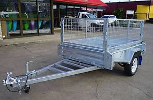 EOFY SALE Fully Welded Hot Dipped Gal Box Trailers 6x4 7x4 8x5 Brendale Pine Rivers Area Preview