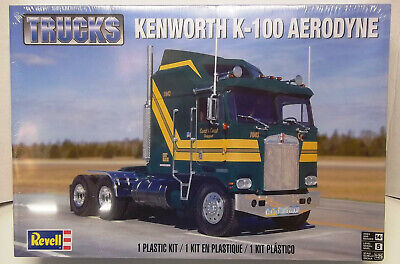 KIT REVELL KENWORTH K100 AERODYNE MODEL KIT 1/25 SCALE NO.85-2514