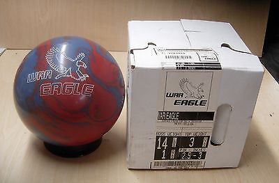 14 1oz (new In Box) 900 Global War Eagle Bowling Ball