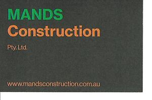 MANDS Construction Perth Perth City Area Preview