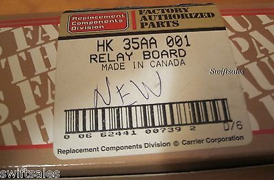 Carrier HK35AA001 Relay Board - New OEM Chiller / Air Condit