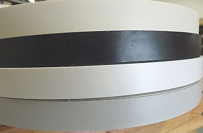 White Almond Black Fog Folkstone Gray Pvc Edgebanding 1516 X 600 Roll 150