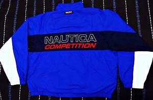 Rare vintage Nautica competition big logo sailing jacket size L South Brisbane Brisbane South West Preview