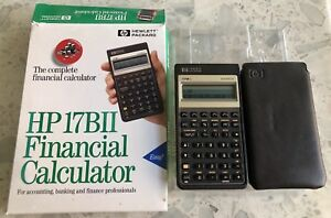 Hewlett Packard HP 17B II Financial Calculator