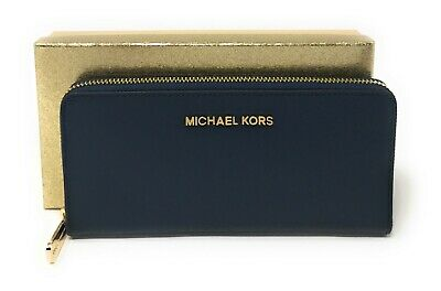 Michael kors Giftables Large Zip Around Continental Leather Wallet Gift Box $188