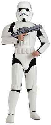 Stormtrooper Storm Trooper Star Wars Fancy Dress Halloween Deluxe Adult Costume