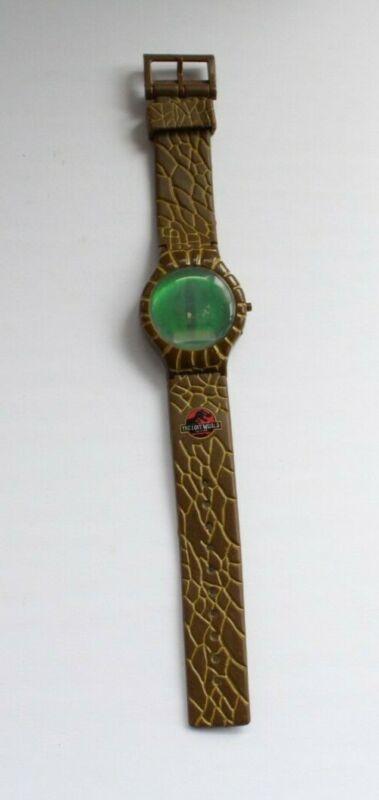 Vintage Dino Eye Burger King Jurassic Park Wrist Watch