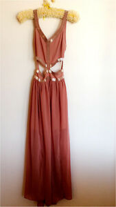 Dusty Pink Maxi Formal Dress Randwick Eastern Suburbs Preview