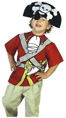 Kids Klassic Pirate Kostume Halloween Costume CLOSEOUT SALE (SIze 7 to 12 years)