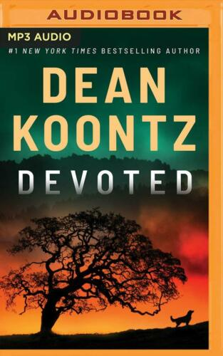Dean Koontz DEVOTED Unabridged MP3-CD 11.5 Hours *NEW* FAST Ship!