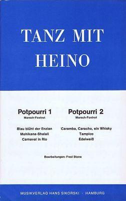 Tanz mit Heino - 2  Potpourris für Salonorchester/Combo - Noten Potpourri Medley
