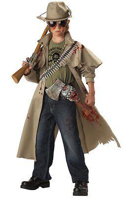 Zombie Hunter Child Costume - Kid Zombie Costumes