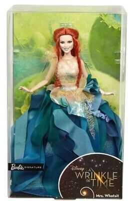 Barbie Signature Doll From Disney A Wrinkle in Time Mrs. Whatsit.  New in Box.