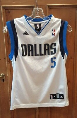 Dallas Mavericks Youth Jersey Sleeveless Adidas Swingman Medium NBA  5  Howard 74cd94569