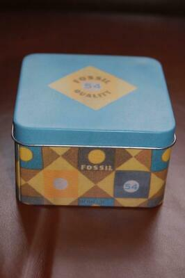 2 Fossil Watch Authentic Empty Boxes  with Booklet Various (New Brochure Designs)