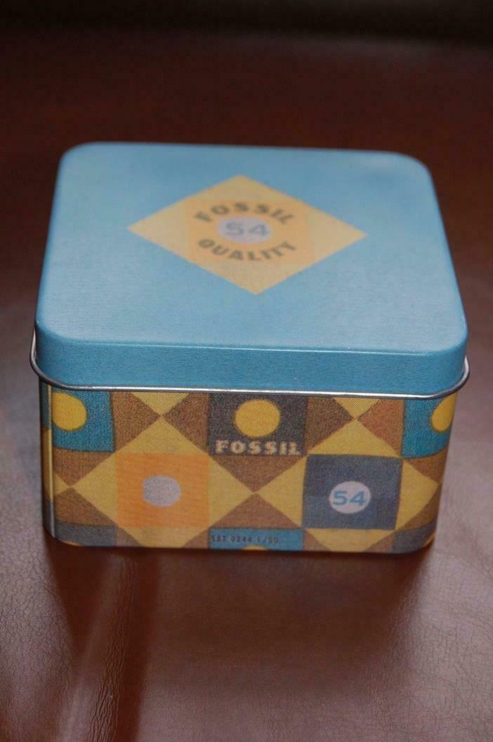 2 Fossil Watch Authentic Empty Boxes  with Booklet Various D