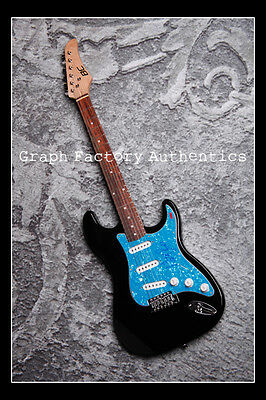GFA Black Flag Frontman * HENRY ROLLINS * Signed Electric Guitar H1 PROOF COA