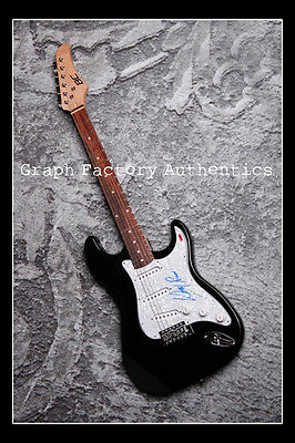 GFA Black Flag Frontman * HENRY ROLLINS * Signed Electric Guitar H2 PROOF COA