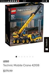 Technic mobile crane