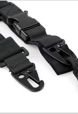 Adjustable 3 Point Tactical Paint Ball Air Soft Rifle Sling Hunting Gun Strap 3 Point Tactical Airsoft Rifle