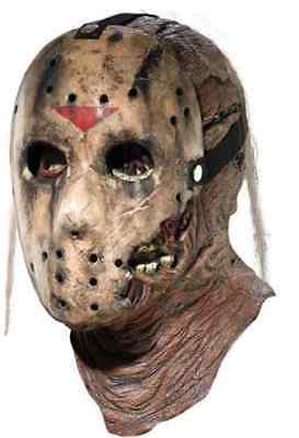 Jason Voorhees Mask Friday the 13th 7 New Blood Halloween Costume Accessory (Jason Voorhees Halloween)