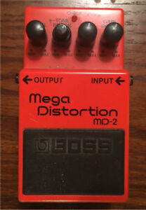Mega distortion pedal