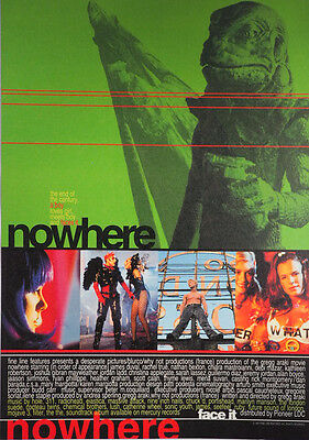 Nowhere 1997 Rachel True Greg Araki  Chirashi Mini Movie Poster B5 B