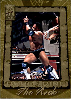 """2002 WWF All Access """"Road To The Ring"""" The Rock #99"""