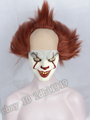 Wig for Pennywise Short Halloween Party Cosplay Costume Wig Clown Adult Wig - Halloween Short