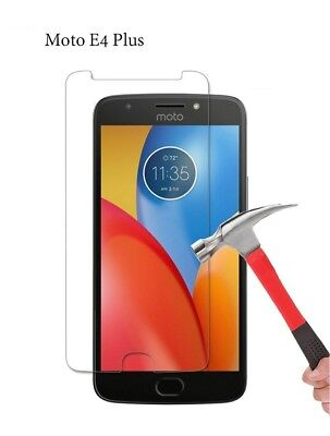 100% Genuine Tempered Glass Film Screen Protector For Motorola Moto E4 Plus