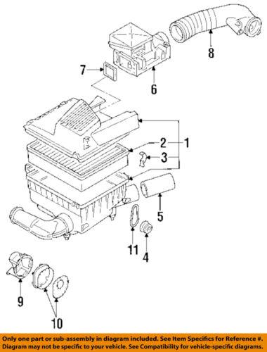 VW VOLKSWAGEN OEM 93-98 Jetta Engine-Air Filter Element 1H0129620 | eBayeBay